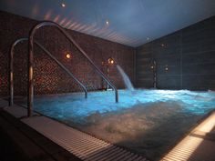 State of the art Hydrotherapy Pool from Barcelona at Ilsington Country House Hotel Spa