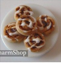 cinnamon rolls. We're making real ones right now! Hahaha!