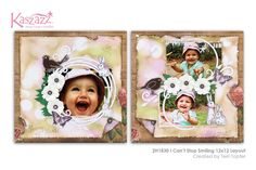 2H1830 I Cant Stop Smiling 12x12 Layout