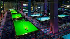 Bandaclub - snooker and pool club in Sky Tower in Wrocław