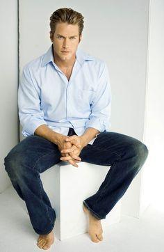 Jason Lewis - tall, blonde & beautiful