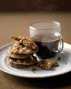 Hazelnut-Espresso Cookies | Martha Stewart Recipe