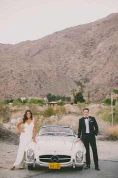 Your groom will pretty much love this along with a destination wedding in Palm Springs.