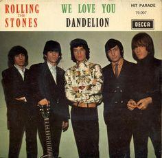 Rolling Stones - We Love You / Dandelion - France,  Decca