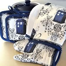 Doctor Who themed kitchen? Umm.. yes.