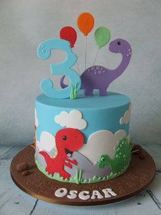 Beautiful Image of Birthday Cakes Kids . Birthday Cakes Kids Dinosaur Cake Birthdays 2017 Pinte kids cakes Beautiful Image of Birthday Cakes Kids Dinosaur Birthday Cakes, 3rd Birthday Cakes, 2nd Birthday Parties, Dinosaur Cakes For Boys, Dinosaur Party, Third Birthday, Unicorn Birthday, Birthday Cake Kids Boys, Birthday Ideas