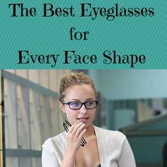 If you have a round face like Hayden Panettiere, look for rectangular-shaped frames to avoid exaggerating the roundness of your face.