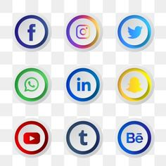 Banner Background Hd, Geometric Background, Vector Background, Social Media Buttons, Social Media Logos, Facebook And Instagram Logo, Logo Facebook, Logo Clipart, Whatsapp Profile Picture