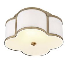 Chitwood 3-Light Flush Mount, guest room