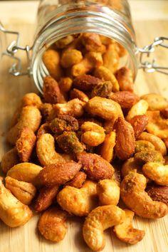 Buffalo Spiced Nuts
