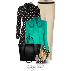 A fashion look from January 2013 featuring Safiyaa blouses, Soaked in Luxury and Ralph Lauren Black Label pants. Browse and shop related looks.