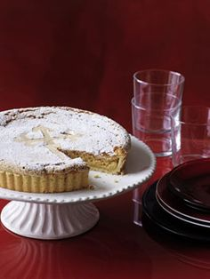 Tarta de Santiago (Galician almond tart) Definitely a favourite and the closest I will get to Galicia for awhile! Food Cakes, Spanish Desserts, Spanish Food, Cake Recipes, Dessert Recipes, Cinnamon Cake, Savory Tart, Sweet Tarts, Pie Dessert