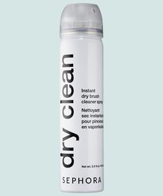 This brush-cleaning spray is probably the most anticipated Sephora launch this season. The alcohol-free spray freshens up makeup brushes in no time so that you Toilet Cleaning, Deep Cleaning, Cleaning Hacks, Cleaning Spray, Shampooing Sec, Homemade Toilet Cleaner, Glass Cooktop, Rubbing Alcohol, Beauty Junkie