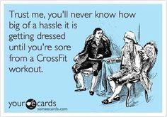 Crossfit humor. How I feel exactly this week. #everythinghurts