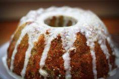 Lemon Poppyseed Cake With Lemon Vanilla Glaze