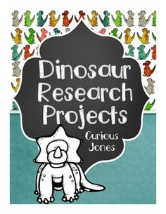 Use these 5 informative nonfiction dinosaur articles to help your students research, take notes, and write a dinosaur report. This unit provides:*Directions for an in class research report.*Five informative nonfiction articles about the Triceratops, Parasaurolophus, Protoceratops, Tyrannosaurus Rex, and the Velociraptor. *3 Research fact sheets or note taking guides.*Rough Draft Writing Guide*Final Draft Sheets*Many Compare and Contrast Two Dinosaurs - Options*Cover Page, Title Page, Table…