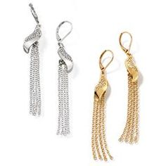 Knotted Statement Drama Earrings