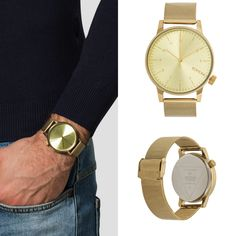 Watch from @Komono. Its yours for about $80 at @zalando_official  #komono #zalando #watch #instawatch #watchesofinstagram #gold #clock #mensfashionbase #autumnfashion #clothing #mensfashion #fashion #instafashion #affordablefashion #menswear #man #menstyle