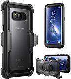 Samsung Galaxy S8 Hülle, i-Blason [ArmorBox Serie] Case / Cover / Schutzhülle ohne integriertem Displayschutz (2017 Release) (schwarz)