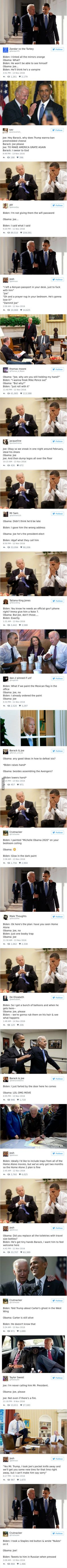 Hilarious Imaginary  Conversations Between Obama And Biden Are The Best Medicine After This Election