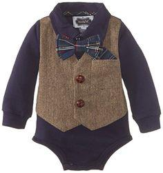 Mud Pie Baby-Boys Newborn Tweed Vest Crawler, Blue, 6-9 Months Mud Pie http://www.amazon.com/dp/B00MI3TB34/ref=cm_sw_r_pi_dp_DrGGub1M5TZ2C