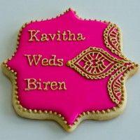 Indian Wedding Cookies