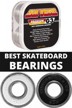 Read this before buying skateboard bearings. These are the best in the business. Buy Skateboard, Skateboard Bearings, Cool Skateboards, The Hundreds, Skateboarding, Good Things, Business, Blog, Collection