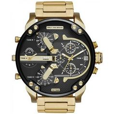 3c23e3f568d Men s Diesel Watch Mr. Daddy 2.0 DZ7333 Chronograph 4 Time Zones... for