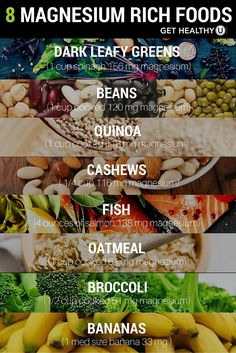 Try these 8 delicious magnesium rich foods to fight fatigue, cramping, and insomnia!