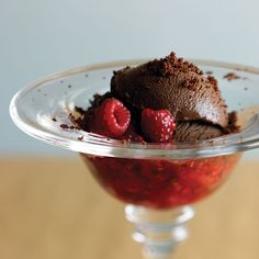 Chocolate Sorbet Recipe | SCHARFFEN BERGER