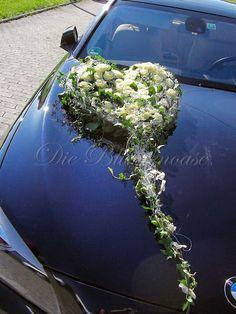Autodekorationen für die Hochzeit I Die Blumenoase