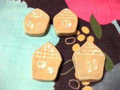 箸置き ハウス4個セット by KOTERUYA 陶器・ガラス・食器 陶器