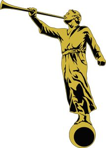 angel moroni lds mormon clip art angel moroni lds mormon and clip art rh pinterest com