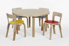 What should you consider when choosing the right children table and chair set? 5 the best toddler table and chair set and a few tips to help you chose well. Toddler Table And Chairs, Kid Table, Table And Chair Sets, Chair Design, Furniture Design, Kids Furniture, Contemporary Kitchen Tables, Casa Kids, School Chairs