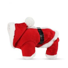 Type: DogsPattern: SolidBrand Name: BIBSSSeason: Autumn/WinterMaterial: 100% CottonSize: S/M/L/XLApplication: Christmas Dog ClothesStyle: Santa Claus Costume for Puppy/CatSuitable for: New Year's Costume for DogsBreed: Yorkshire Terrier Clothes