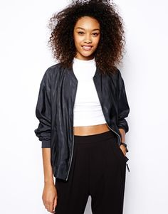 Asos bomber jacket (part of Spring's Most Wanted, today on CCF http://chicityfashion.com/what-to-buy-this-spring/)