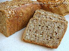 Przepisy na domowy ser i chleb: Prosty chleb razowy ze słonecznikiem