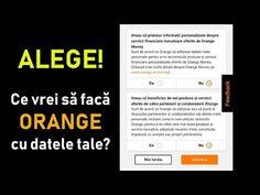 Setarile noi care apar in contul Orange ne permit sa alegem ce se intampla cu datele noastre cu caracter personal. Daca te-ai saturat de apeluri telefonice si SMS-uri publicitare, fa-ti setarile in cont. Setări Orange privind protecția datelor cu caracter personal #videotutorial #Orange