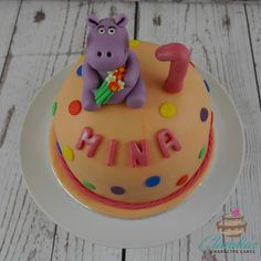 Geburtstags Nilpferd Torte | Birthday Hippo Cake