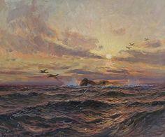 Et skjær - Thorolf Holmboe (norwegian painter)