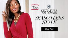 Seasonless Style - Shop the Avon Signature Collection fashions online from my Avon online store at https://stephanielackey.avonrepresentative.com/