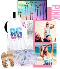 """""I believe in pink. I believe that laughing is the best calorie burner. I believe in being strong when everything seems to be going wrong. I believe that happy girls are the prettiest. I believe that tomorrow is another day and I believe in miracles."" by monster-mash ❤ liked on Polyvore"