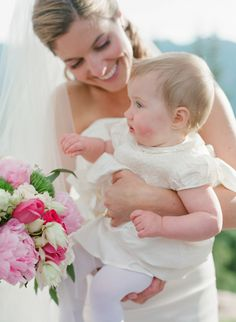 The sweetest little one: http://www.stylemepretty.com/little-black-book-blog/2016/05/10/magical-aspen-mountain-wedding/ | Photography: Laura Murray - http://lauramurrayphotography.com/