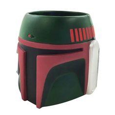 Star Wars Boba Fett Formed Foam Helmet Can Hugger - ICUP - Star Wars - Can Huggers at Entertainment Earth