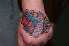 Mom Heart Tattoos For Men 30 lovely mom tattoos - slodive Flower Tattoo Hand, Flower Tattoo Shoulder, Flower Tattoo Designs, Mom Tattoos, Hand Tattoos, Tattoos For Guys, Sleeve Tattoos, Human Heart Tattoo, Mom Heart Tattoo