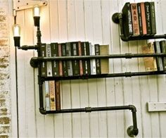 how awesome would it be to use plumbing parts from the old house as decorations for the new or remodeled?