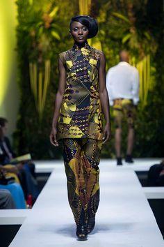 David Tlale & Ciss St-Moise @ The K-Walk Show 2015, Cameroon Yaounde | FashionGHANA.com: 100% African Fashion