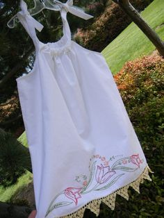Vintage Pillowcase Dress from Warm Hugs Design