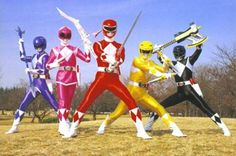 i was in love with the Power Rangers