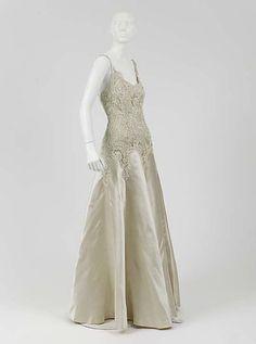 Evening Dress  Coco Chanel, 1938
